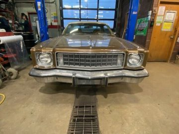 1975 PLYMOUTH FURY SPORT CERTIFIED