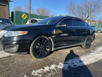 2012 HOTROD LINCOLN MKS AWD CUSTOM RIMS AND NEW TIRES