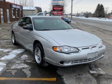 2002 CHEV MONTE CARLO LS CERT – 0NLY 106K